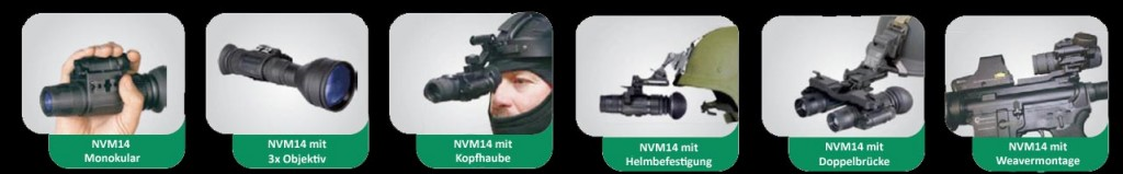 NVM 14 Anwendungen